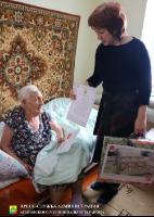 24 декабря 2018 года жительнице Агаповского района исполнилось 95 лет
