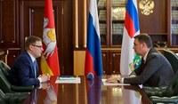 Алексей Текслер и Дмитрий Патрушев обсудили развитие южноуральского агропрома