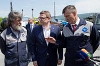 Алексей Текслер предложил Федору Конюхову стать официальным представителем Челябинской области