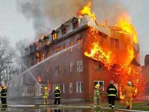 Почему горят дома