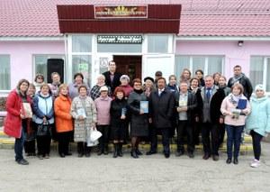 В Агаповке состоялся автопробег, посвящённый 115-летию села.