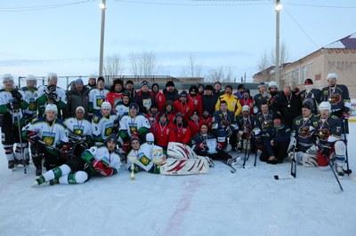 В Брединском районе состоялся турнир по хоккею с шайбой