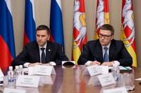 Дмитрий Кобылкин и Алексей Текслер провели рабочую встречу