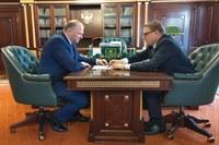 Николай Цуканов и Алексей Текслер обсудили реализацию национальных проектов в Челябинской области