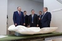 Николай Цуканов и Алексей Текслер посетили Челябинский областной клинический центр онкологии и ядерной медицины