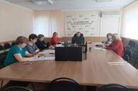 Состоялось очередное заседание комиссии по охране труда