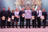 Сотрудники полиции отметили профессиональный праздник