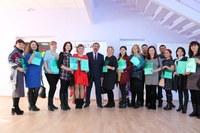 В Сосновском районе прошла церемония вручения Свидетельств о предоставлении социальной выплаты на строительство (приобретение) жилья в сельской местности