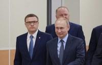 Владимир Путин встретился с вновь избранными губернаторами